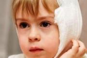 Компресс на ухо ребенку