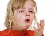 Сухой кашель у ребенка — лечение