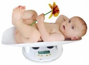 Рост и вес младенца
