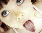 У ребенка желтый язык